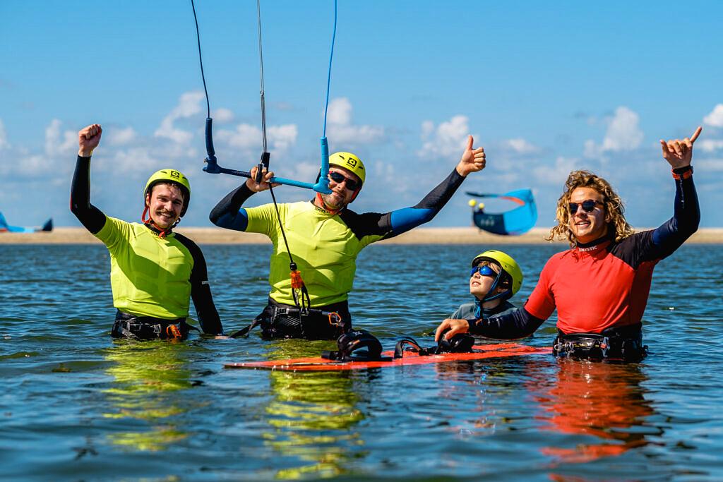BLOW kitesurf school de Zandmotor
