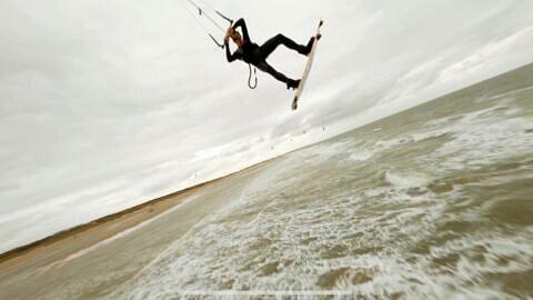 Kitesurfen Vrouwenpolder